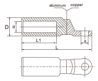 CAL-A Bimetallic Lugs