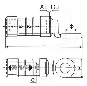 CPTAU Pre Insulated Lugs