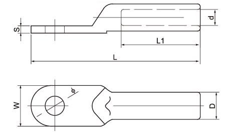 DL Aluminum Lug