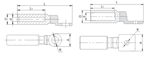 CAL-B Bimetal Lug