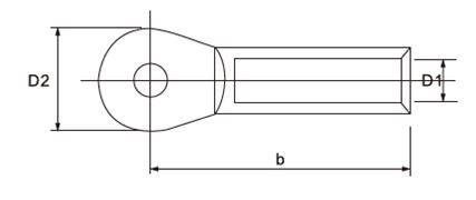RAU Aluminium Cable Lugs