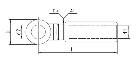 CAL-E Bimetal Cable Lug