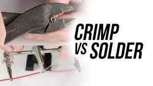 Soldering or Crimping Aluminum Lug
